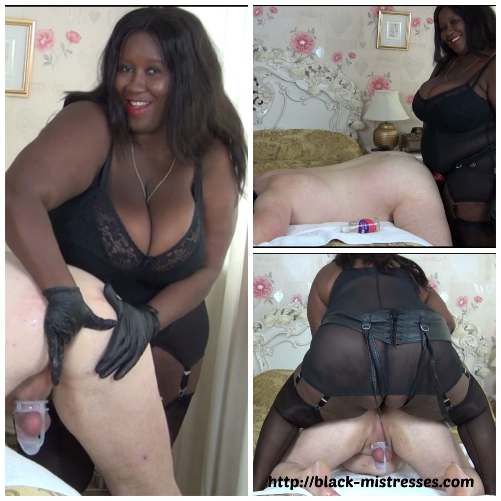 Chastity gets 2 black cocks to herself 10
