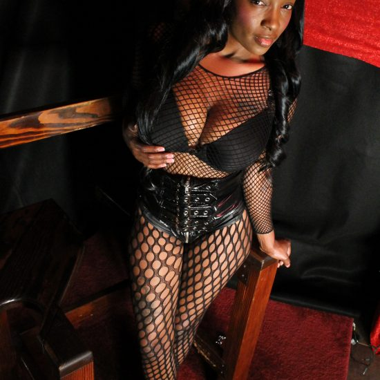black Dommes goddess ebony