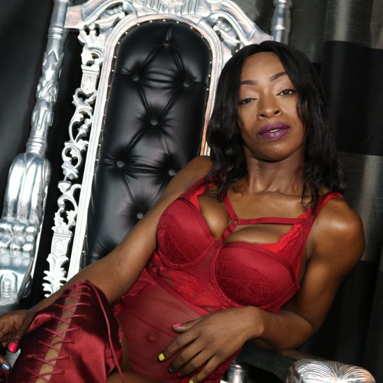 Black Dominatrix website